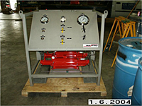 Gas Booster System with Offshore Coating - Front View