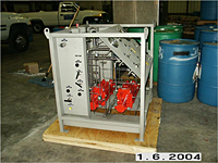Gas Booster System with Offshore Coating - Right View