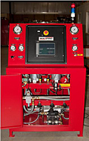 Hose Test Bench for Gas or Liquid 10,000 psig - Detail