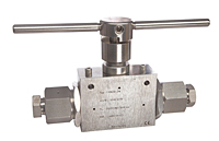2-Way Ball Valves 0.5 in Orifice