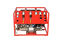 Argon Gas Collection System 4,300 psi - Front View