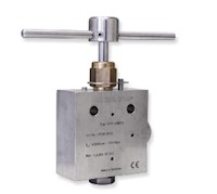 High Pressure Needle Valves - Pressures to 43,000 PSI