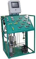 Pump Skid With Dual Pressure Logger 20,000 psi