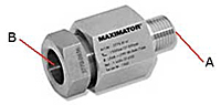 High Pressure Adapter Male to Female