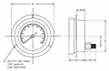SI-Stainless Steel Pressure Gauge